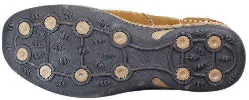 Calto - V3250 - 2,8 Inches Längre - Höjd Ökande Hiss Skor (brun Fiskare Sandaler)