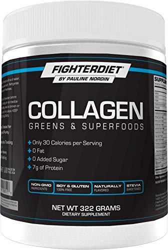FIghterdiet Collagen & Greens Superfood – 322g