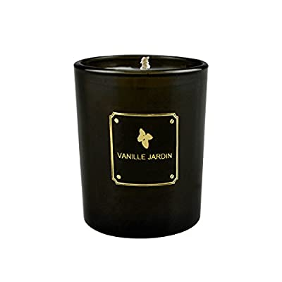 VANILLE JARDIN Scented Candles Vanilla Strongly Naturals Aromatherapy Travel Candles Gift or Use for Aromatherapy, Weddings, Party Favors