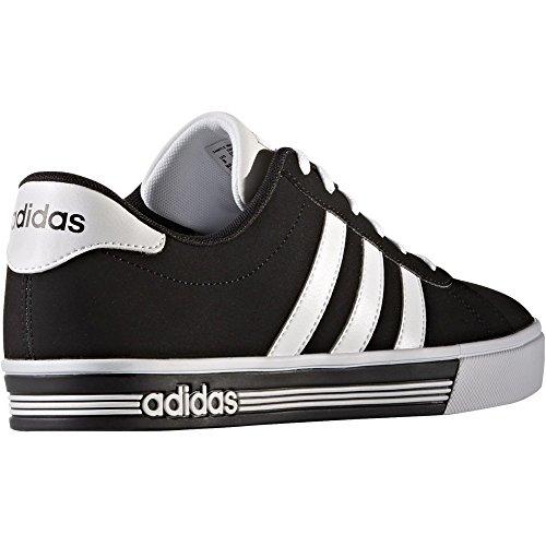 adidas DAILY TEAM - Zapatillas deportivas para Hombre, Negro - (NEGBAS/FTWBLA/NEGBAS) 44 2/3
