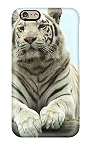 6 Scratch-proof Protection Case Cover For Iphone/ Hot White Bengal Tiger Phone Case
