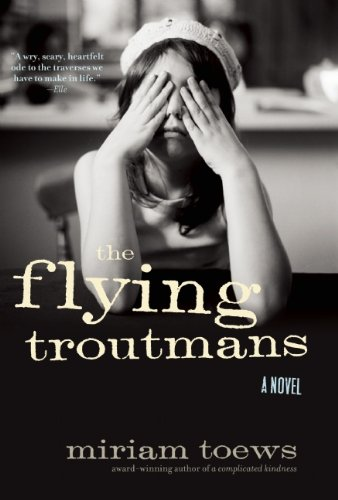 Book cover for The Flying Troutmans