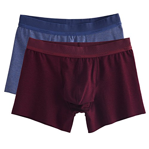 Separatec Men's Soft Cotton Separate Pouch Stretch Trunks 2 - Stretch Pouch Trunk