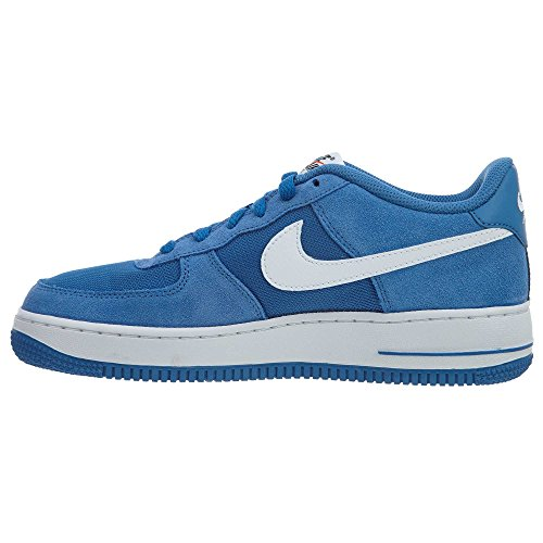 Nike Air Force 1 (gs) Stjärna Blå / Vit
