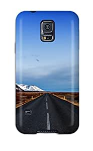 High Quality Shock Absorbing Case For Galaxy S5-landscape Road