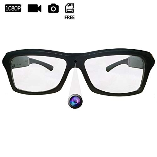 DATONTEN Glasses with Camera HD 1080P Video Recording Glasses with 8GB SD Card