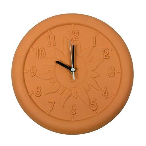 Terra Cotta Wall Clock - Swim Central 12