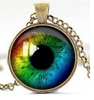 Rainbow eye necklace third eye evil eye charm eyeball pendant rainbow eye necklace third eye evil eye charm eyeball pendant mozeypictures Image collections