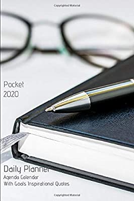 Pocket 2020 Daily Planner Agenda Calendar With Goals ...