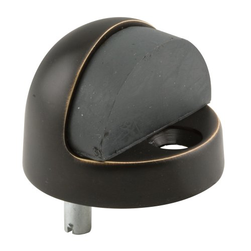 (Prime-Line Products J 4791 Door Stop, 1-5/16 Dome Type, Oil Rubbed Bronze)