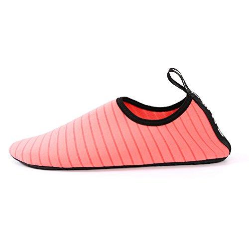 Beach Watermelon Barefoot Red for Dry Quick Swimming Lake Shoes Walking Men Aqua Eachbid Water Shoes Yoga Women YZB6Bq
