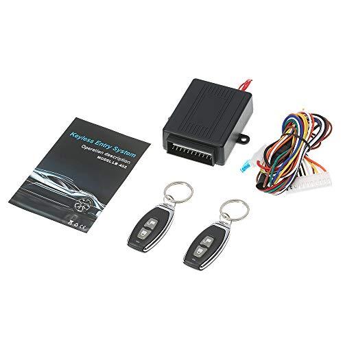 KKmoon Universele autodeurslot, vergrendeling, afstandsbediening, gecentraliseerd met afstandsbediening, Central Box Kit…