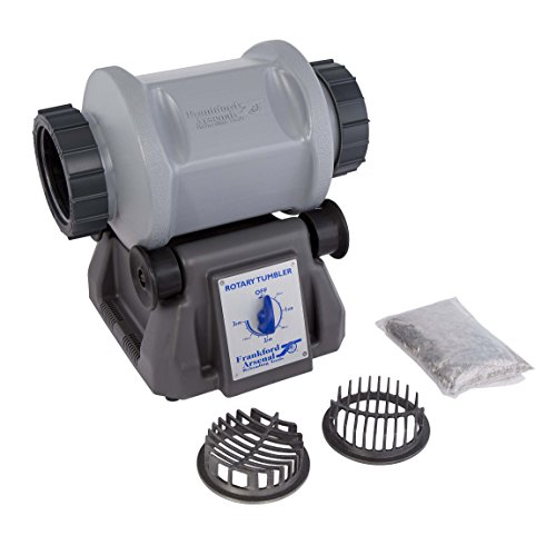 - Frankford Arsenal Platinum Series 110V 7L Rotary Tumbler and Media Separator for Cleaning and Polishing for Reloading