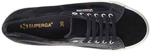 Superga Collo Donna velvetw Dk 2790 Sneaker Grey a Basso wqpHTRxqA