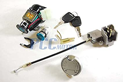 Amazon.com: 1LSF 5 WIRES IGNITION KEY LOCK SYSTEM 49CC 50CC SCOOTER on 47cc wiring diagram, gy6 wiring diagram, honda wiring diagram, moped wiring diagram, motor wiring diagram, quad wiring diagram, tomos wiring diagram, goodall start all wiring diagram, 110cc wiring diagram, x12 wiring diagram, 107cc wiring diagram, electric wiring diagram, x1 wiring diagram, 150cc wiring diagram, verucci wiring diagram, 50cc wiring diagram, motorcycle wiring diagram, kawasaki wiring diagram, 70cc wiring diagram, two stroke wiring diagram,