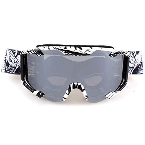 Mujer iShinè de protección Deporte de glasses Adulto Unisex Sol Motorista Hombre Gafas 8 8 Gafas Estilo estilo YnwvrxXqY