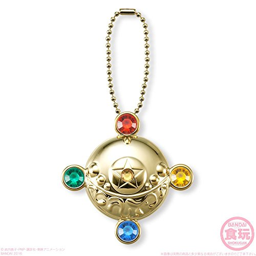 Bandai Shokugan Sailor Moon Series 4 Miniaturely Tablet Transformation Brooch