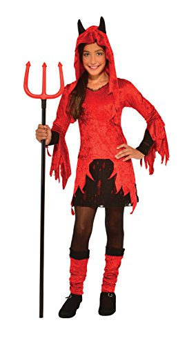 Rubie's Costume Devilina Deluxe Child Costume, Small]()