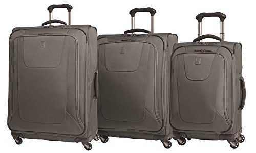 Delsey Lightweight Duffel (Travelpro Maxlite3 Lightweight 3-Piece Expandable Spinner Set (One Size, Grey ))