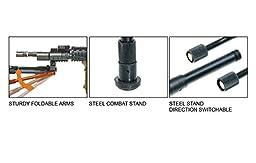 UTG New Gen High-pro Shooters Bipod, Rubber Feet, 8.7\