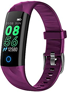 Lixada1 IP67 Water Resistant Fitness Tracker with Heart Rate Monitor