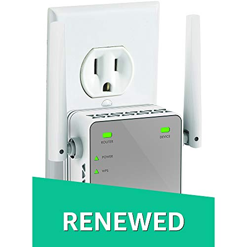 NETGEAR N300 WiFi Range Extender (EX2700) (Renewed)