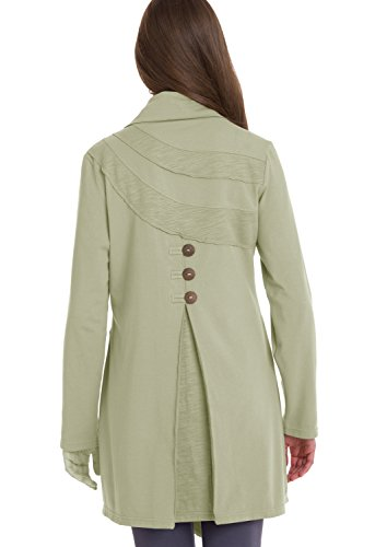 Neon Buddha Women's Travel Car Jacket, Rich Sand, Small