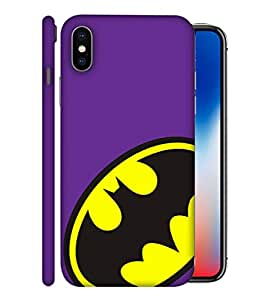 ColorKing Apple iPhone X Case Shell Cover - Batman Multi Color