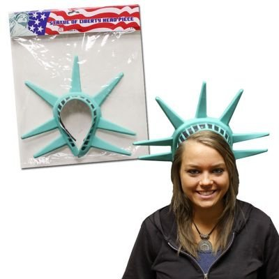 Statue Of Liberty One Head Piece]()