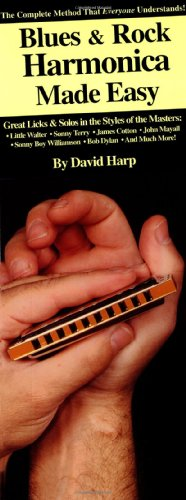 (Blues & Rock Harmonica Made Easy!: Compact Reference Library)