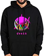 WAWNI Rapper 6ix9ine Hoodies Gooba Hoodie Long Sleeve Velvet Warm Soft Hooded Pullovers Sweatshirts