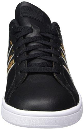 adidas Herren Cloudfoam Advantage Sneaker, Schwarz (Core Black/core Black/night Cargo F15)