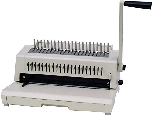 (Tamerica 213PB Multi-Comb Binding Machine with Wire Closer and 3-Hole Punch, Punches 5000 sheets/hr Up to 12