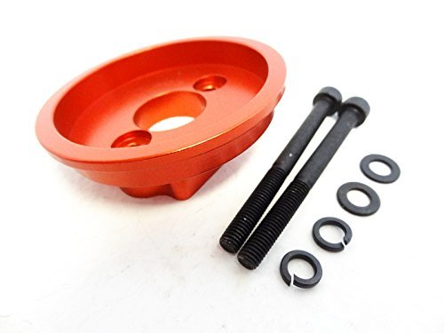 Rovan RC CNC Aluminum High Flow Air Filter Mount (orange) Fits HPI Baja 5b 5T CY Engine