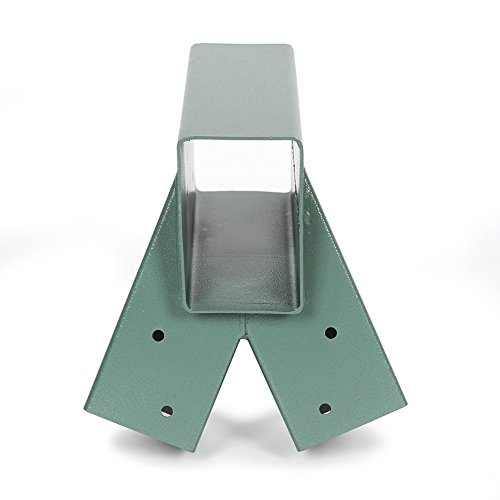 ECOTRIC Easy 1-2-3 Heavy Duty Steel A-Frame Swing Set Bracket Green ...