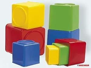 Dantoy - Cubos Apilables - Cuadrados