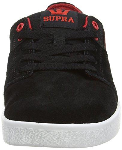 Stacks Grey Shoe White Dark Red Supra Mens Black Skate Red II White qBgxIn5wUH