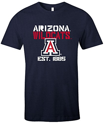 s Est Stack Jersey Short Sleeve T-Shirt, Navy,Large (Arizona Wildcats Basketball Jersey)