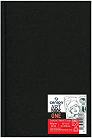 Sketchbook A5 100g/m², Canson, 60005568, ArTBook One, 98 Folhas
