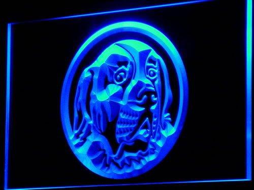 Saint Bernard Dog Breeder Pet LED Sign Neon Light Sign Display i685-b(c)