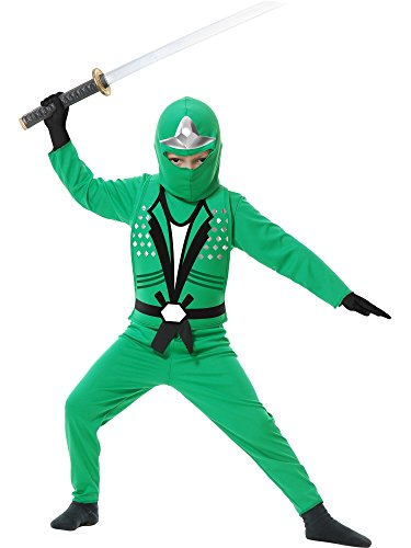 Charades Boys Costume Ninja Avenger Jade (Incredible Hulk Costume Party City)