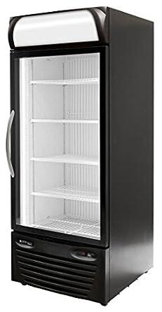 Minus Forty Technologies 22 USGF X1 Single Glass Door Upright Freezer  Merchandiser