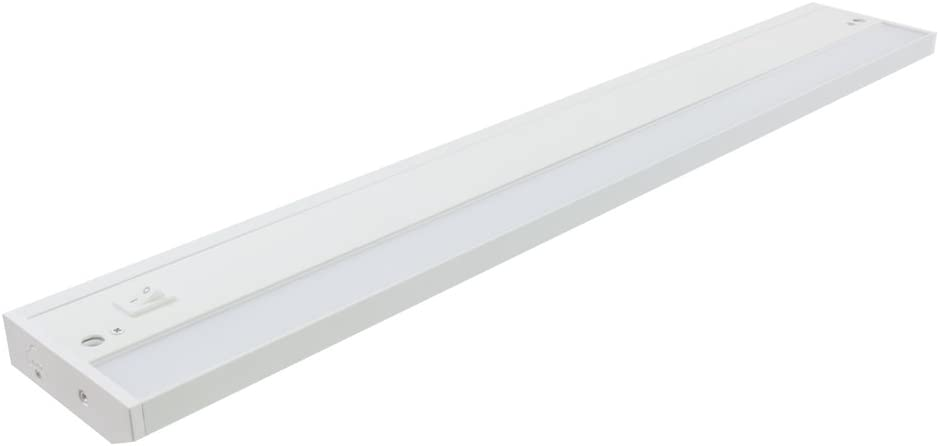 American Lighting LED Complete 2 Under Cabinet Fixture, 120-Volt Dimmable Warm White, 24-inch, White