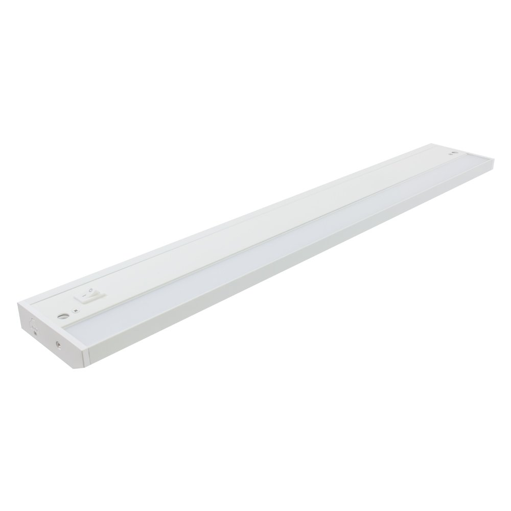 American Lighting LED Complete 2 Under Cabinet Fixture, 120-Volt Dimmable Warm White, 24-inch, White by American Lighting