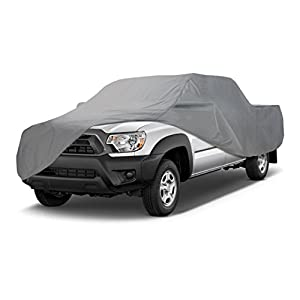Coverking UVCTMSSI98 Universal Fit Car Cover for Mini Truck with Short Bed Standard Cab- Triguard Light Weather Outdoor (Gray)