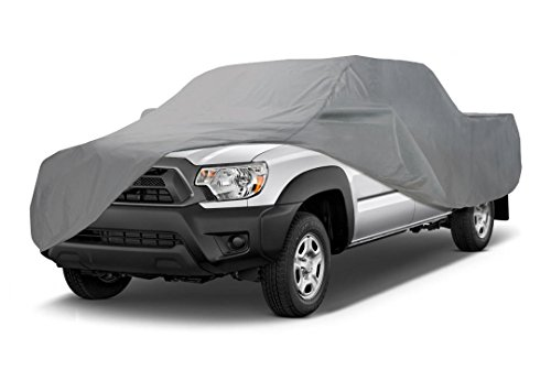 Coverking UVCTMSSI98 Universal Fit Car Cover for Mini Truck with Short Bed Standard Cab- Triguard Light Weather Outdoor (Gray) ()