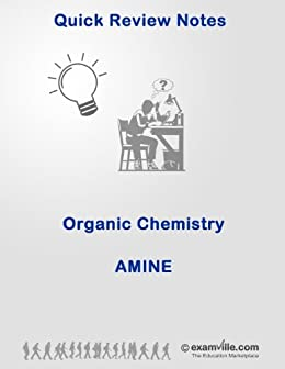 Amazon com: Organic Chemistry Review: Amine (Quick Review