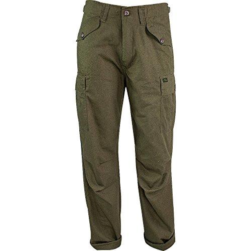 Highlander Herren M65 Outdoor Hose, Camouflage, 34