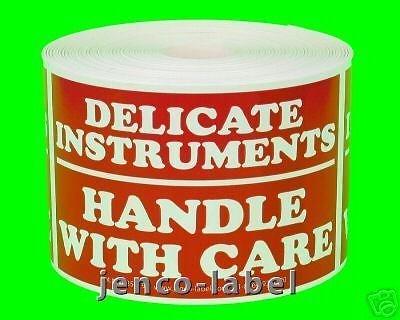 Jenco-Label ML23119, 500 2x3 Delicate Instruments Fragile Labels
