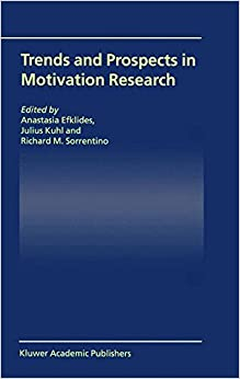 Book Trends and Prospects in Motivation Research